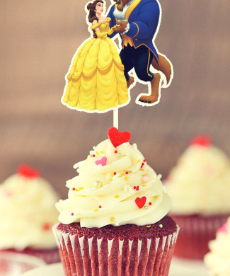 beauty_beast_bella_bestia_cupcakes_toppers