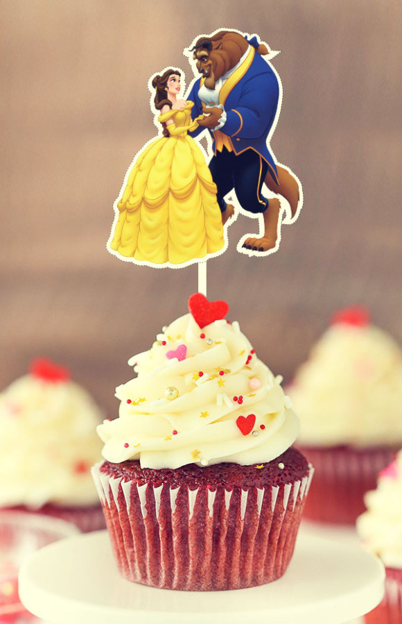 Toppers Bella Y Bestia Beauty And The Beast