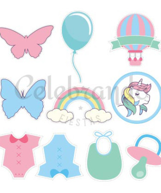 unicornios_toppers_free_download