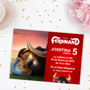 Ferdinand Tarjeta de invitación